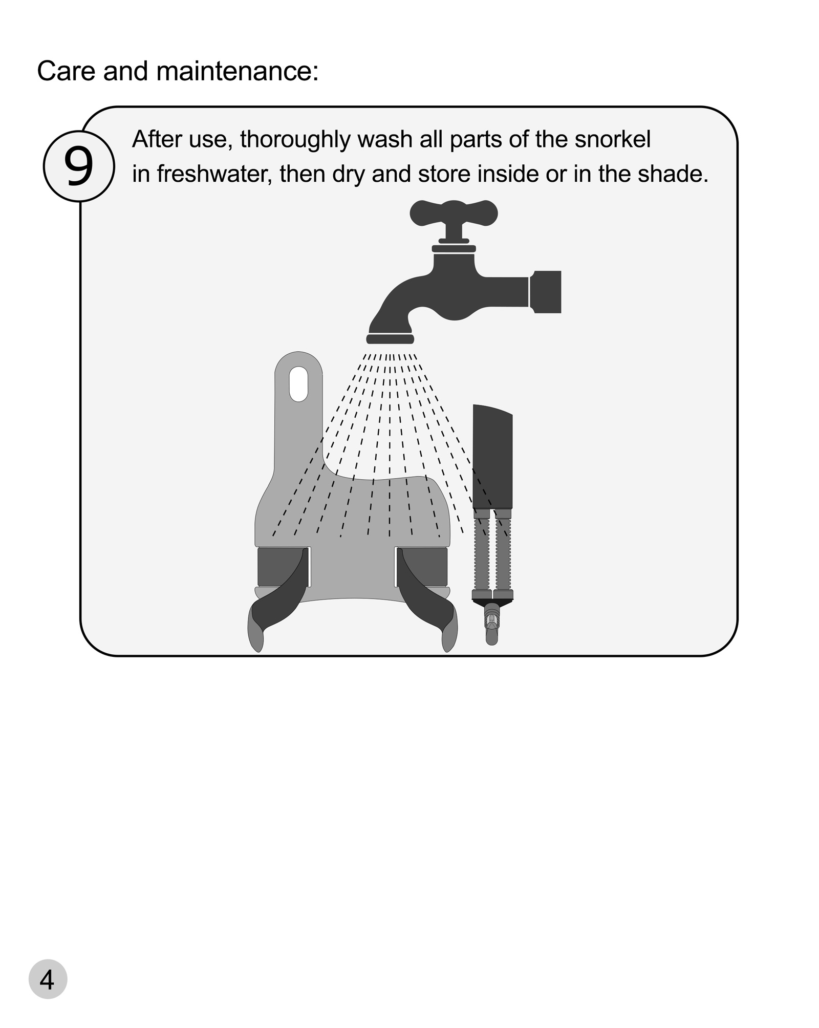 Snorkeling User Manual picture of page number 4