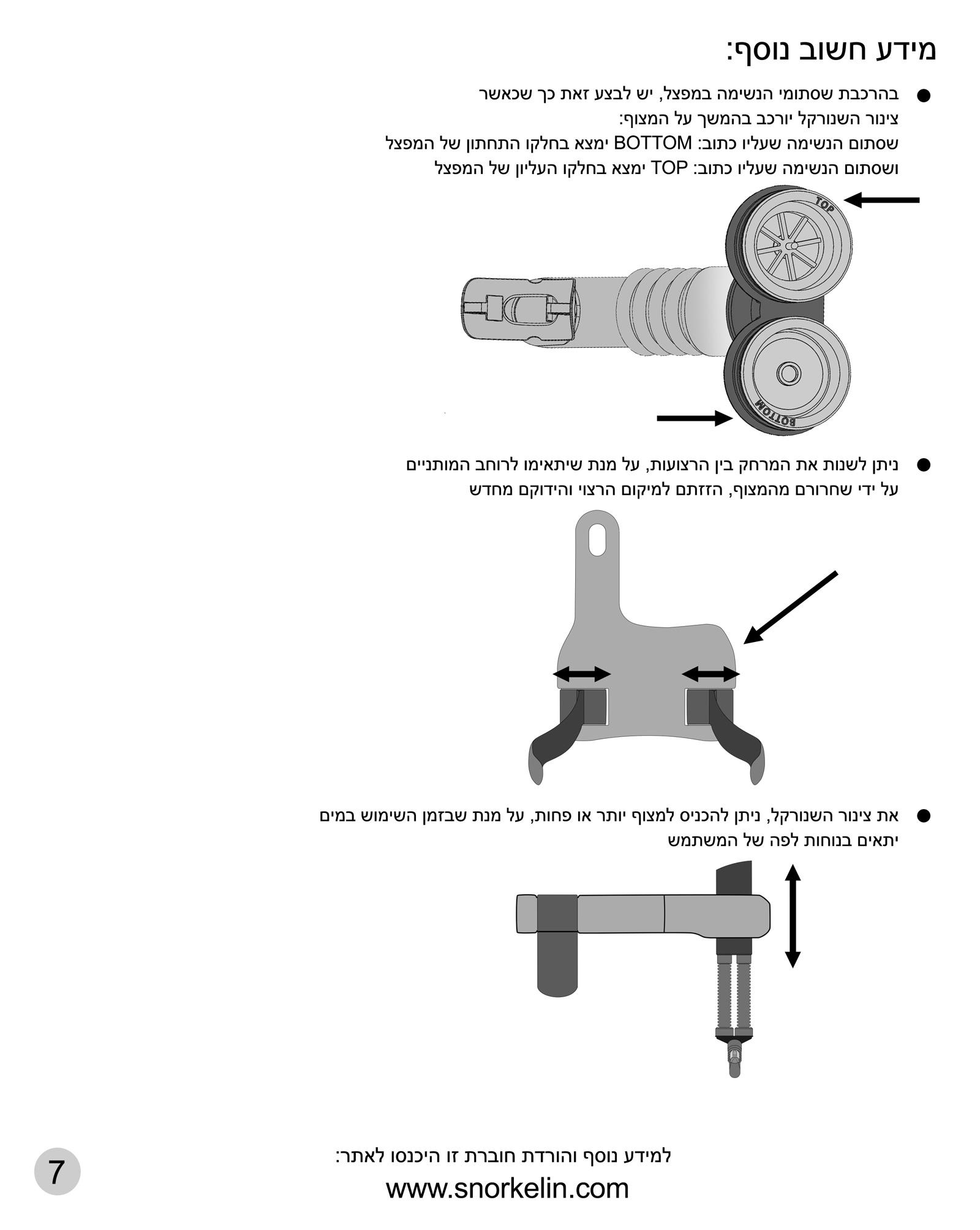 מדריך לשנורקלינג תמונה של עמוד מספר 7